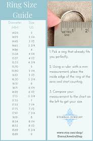 Inside Ring Diameter Chart Engagement Ring Size Guide How To Measure Your Ring Size
