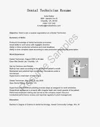 Dentist Resume Dental Technician Resume] 100 Images Dental Technician Resume 86