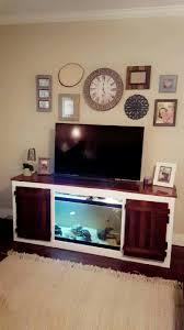 Turtle Tank Decor Tv Stand Home Decor Wall Decor Fish And Turtle Tank Diy
