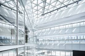 modern architectural interior design. Clear Glass Building Interior During Daytime Modern Architectural Design