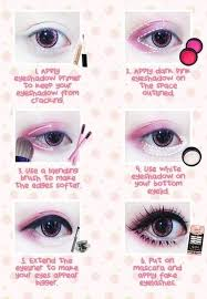 anese big eye makeup tutorial amazingly cute kawaii
