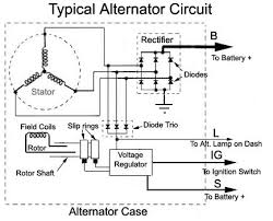 basic alternator wiring diagram basic wiring diagrams