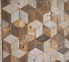 reclaimed lath wall. reclaimed wood wall art, decor, pattern, lath, 3d, cube, geometric, graphic pattern lath