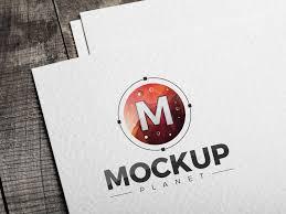 Logo Mock Up Free Logo Mockup Psd By Mockup Planet Dribbble Dribbble