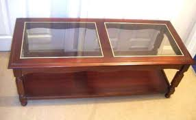 retro coffee table glass top vintage glass top coffee table antique gold glass top coffee table