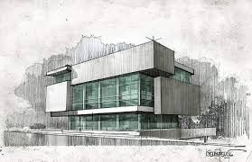 modern architectural sketches. Modren Architectural Modern Architecture To The Drawnboard Powered By JeffThings Throughout Architectural Sketches T