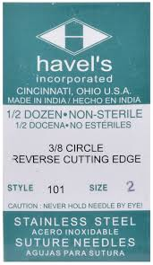 Surgical Needle Chart 23 Surgical Suture Needles Style 101 Jeffers Pet Suture