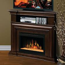 full image for easton aged black media electric fireplace elegant brown wooden corner cabinet ideas fetching