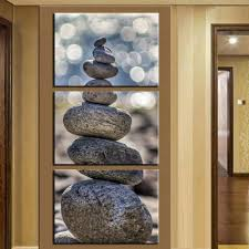 Wall Art Paintings For Living Room Aliexpresscom Buy Vertical Oil Painting The Art Of Stone Wall