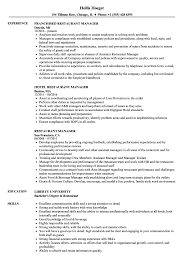 Sample Resume For Restaurant Manager Restaurant Manager Resume Samples Velvet Jobs 16