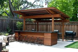 covered outdoor kitchen patio ideas contemporary with furniture bar stools how much does a cost