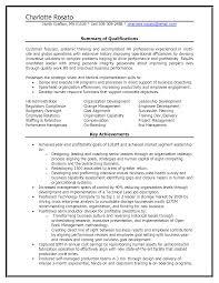 Hr Generalist Sample Resume Key Skills For Cto Human Resources