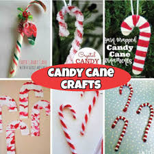 Christmas Decorations With Candy Canes 100 candy cane crafts your kids can make for Christmas Gift of 62