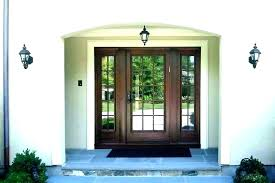 entry door with transom sidelight and fiberglass sidelights front one storm windows