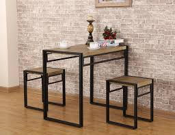 Fivegiven 3 Piece Dining Set Small Kitchen Table Set For 2 Table