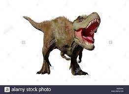 Tyrannosaurus rex roaring, T-rex ...