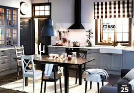 ikea kitchen sets furniture. Beautiful Contemporary Dining Room Zachary Horne Homes Black Furniture Ikea Kitchen Table And White Chairs Gray Set Round Counter Height Sets Chair Wooden 4