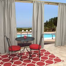 outdoor curtains made with sunbrella fabric