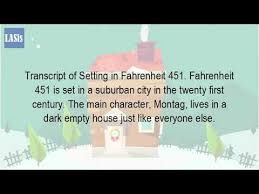 what is the setting of the story fahrenheit  what is the setting of the story fahrenheit 451