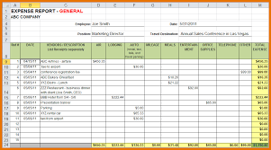 expenses report excel expense reports oyle kalakaari co