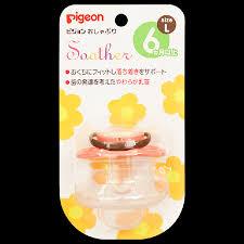Купить <b>Pigeon Пустышка Цветочек</b> от <b>6</b> месяцев (размер L) в ...