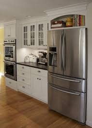 white fridge in kitchen. galley kitchen remodel for small space : fridge gallery ideas | cocinas pinterest kitchens, spaces and kitchens white in