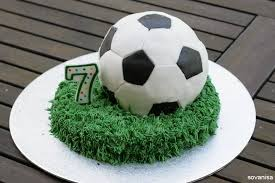 How To Decorate A Soccer Ball Cake Soccer Ball Cake A Little Craft In Your Day 20