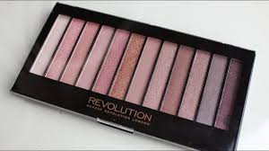 makeup revolution iconic 2 redemption eyeshadow palette review