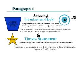 how to write a paragraph essay outline