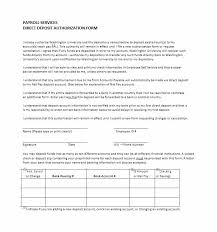 Direct Deposit Form Template 47 Direct Deposit Authorization Form Templates Template Archive