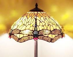 image of tiffany floor lamp antique