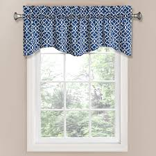 com waverly 12459050x016ind lovely lattice 50 inch by 16 inch window valance indigo home kitchen