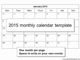 Free Downloadable Monthly Calendar 2015 Free 2015 Monthly Calendar Template