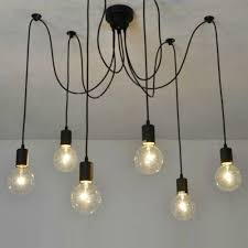 industrial lighting chandelier. Lummy Vintage Industrial Lighting Chandelier