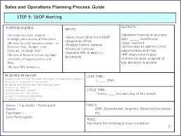 Strategic Planning Agenda Template