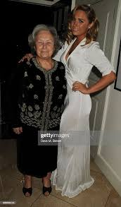 Rena Clarke and Tilly Clarke attend a party hosted by Nicky Clarke to...  News Photo - Getty Images