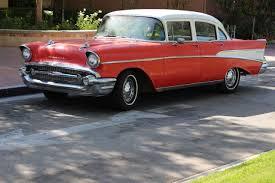 1957 Chevy Chevrolet 210 with Bel Air Trim 4 Door sedan - Classic ...