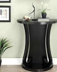 black half moon table furniture cappuccino finish half moon console sofa entry table half moon accent table round accent black moon lilith tables
