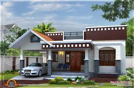 inspiring single floor home plan in 1400 square feet kerala home