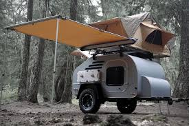 Camper Trailer Kitchen 5 Small Camper Trailers For Awesome Off Road Vacations