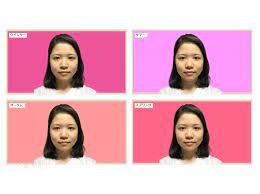 パーソナル カラー 診断 写真