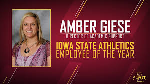Congratulations to Amber Giese,... - Iowa State Athletics   Facebook