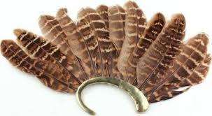 women alloy feather ear cuff non