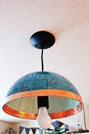 Diy Pendant Light Diy Globe Pendant Light A Quick And Easy Lighting Upgrade