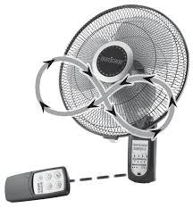 hurricane super 8 digital wall mount fan 16 in image 1