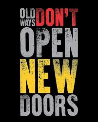 Gym Quotes Gorgeous Old Ways Don't Open New Doors Gym Quotes Poster Poster By Lab No 48