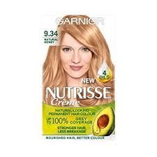 Garnier Nutrisse Permanent Hair Dye 9 34 Honey Blonde