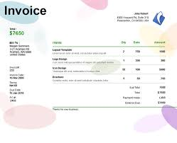 free invoice template uk excel invoice template freelance designer designers kit invoices