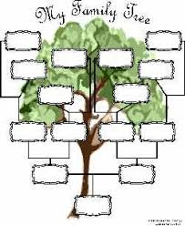 Family Tree Charts To Download Free Family Tree Charts You Can Download Now Blank Family