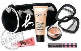 agnès b b trendy makeup pouch